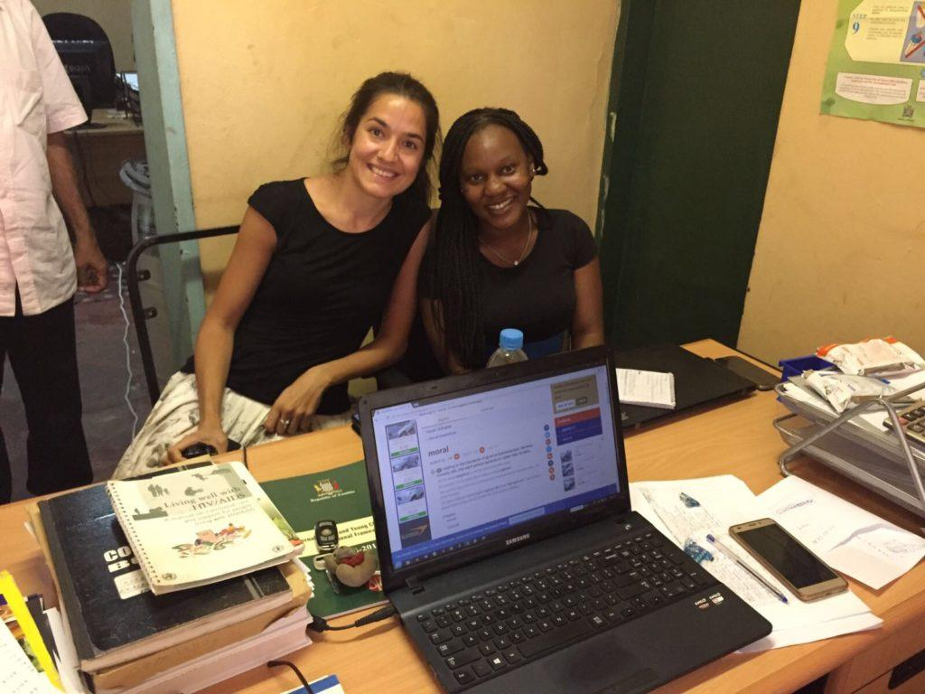 Erica is a volunteer with CMMB and has been in Zambia for several months. From Zimbabwe.