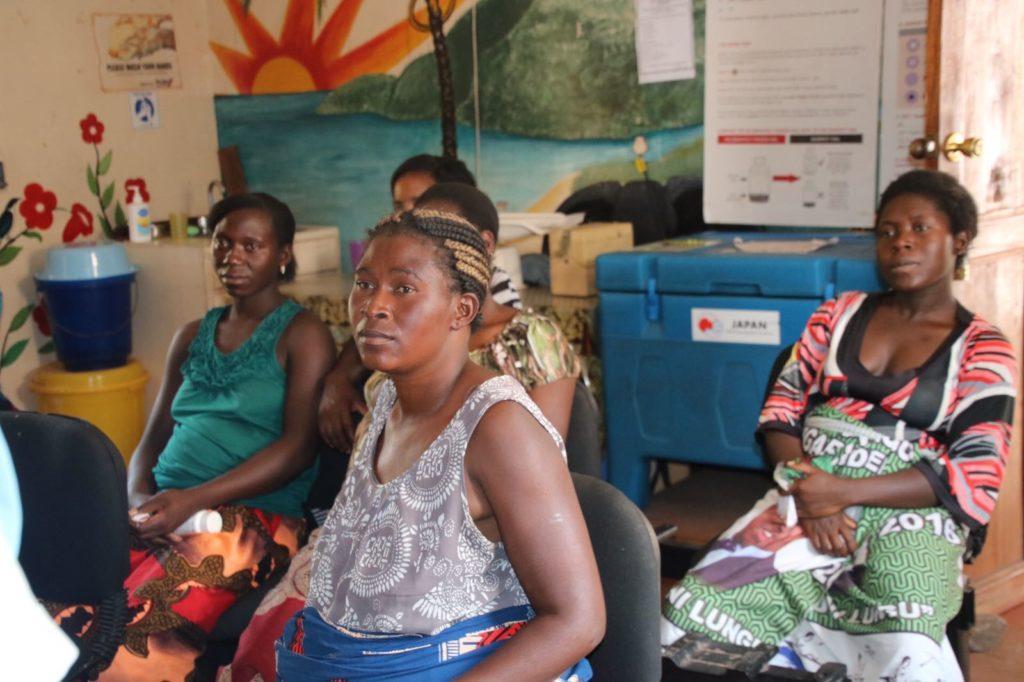 Maternal and child health in Mwandi.