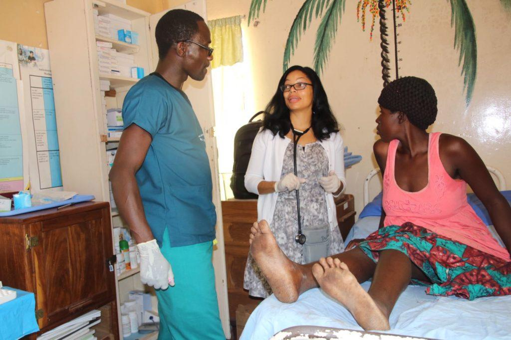 Mentoring staff in the maternal and child health clinic