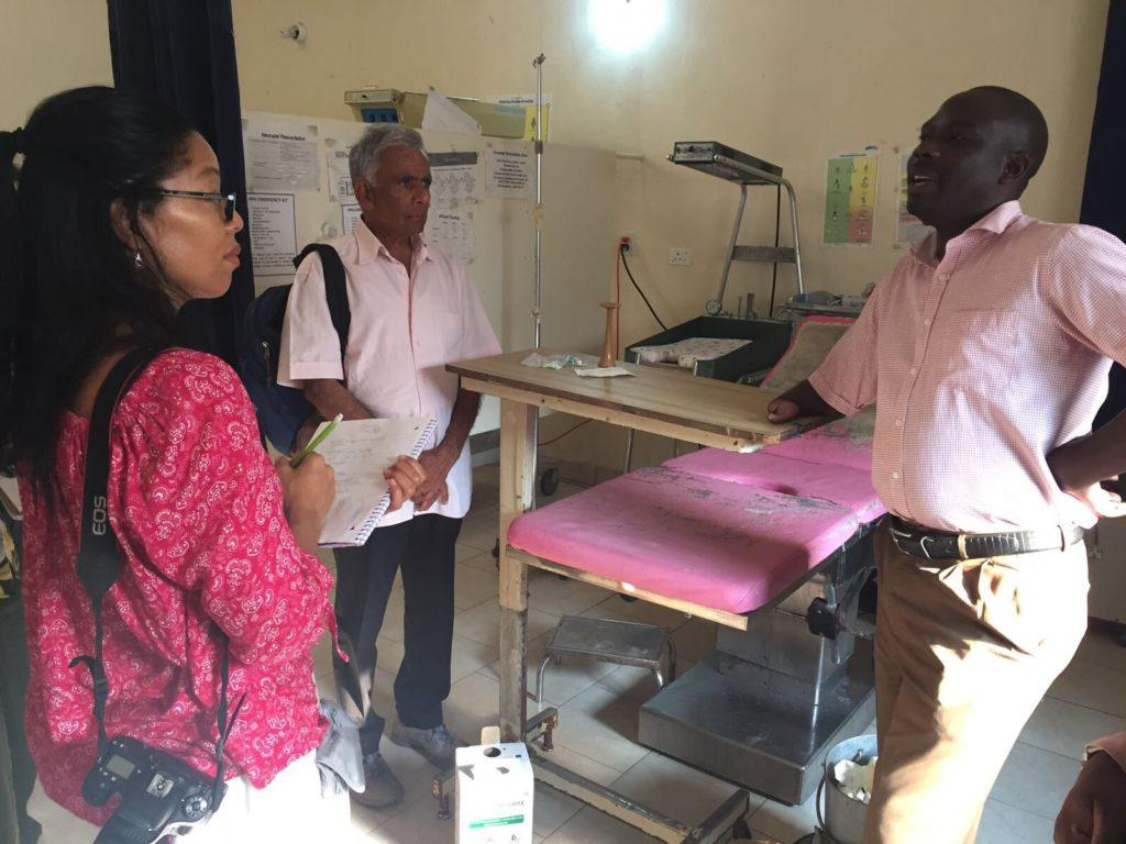 Mwandi Mission Hospital Tour for volunteer doctors