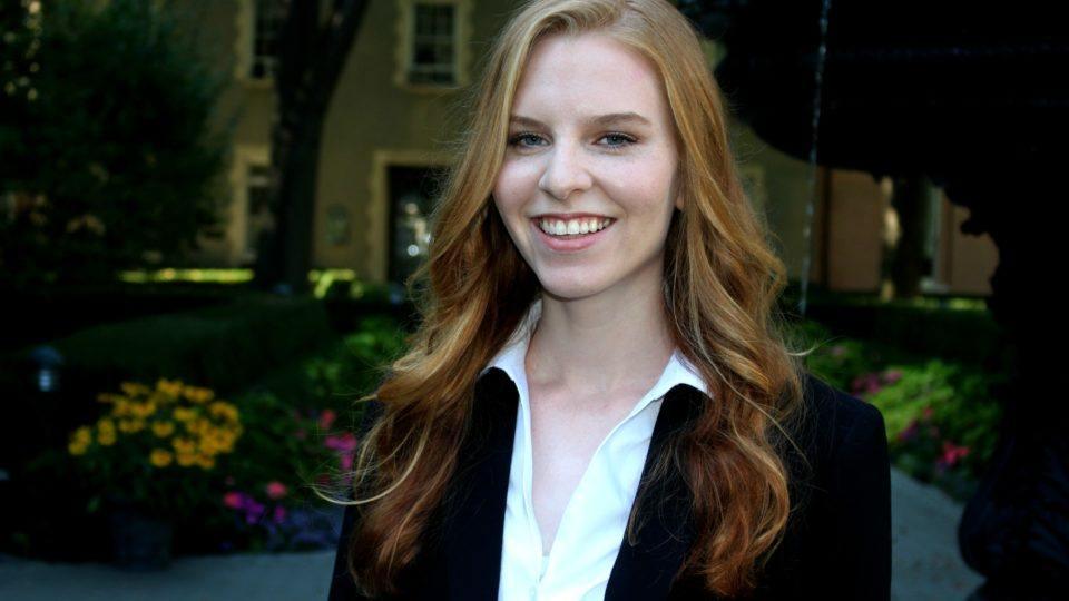 Kathleen Brodowski CMMB intern.