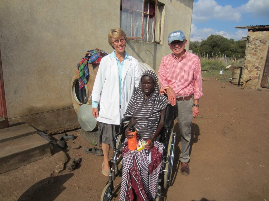 Kathleen and Al in Swaziland