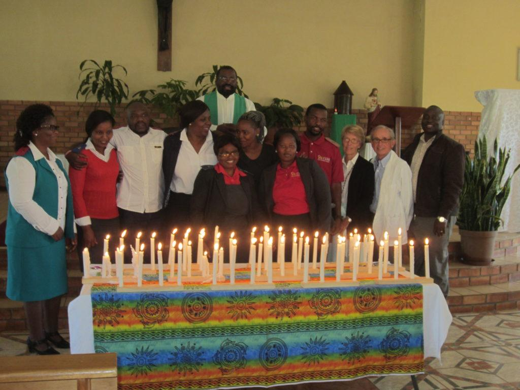 Latest picture of the HBC team in Swaziland