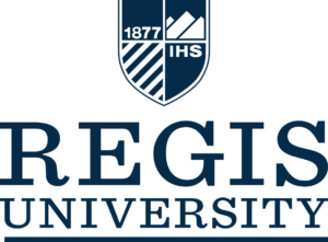 Regis University logo. Partner with CMMB and rehabilitation with hope.
