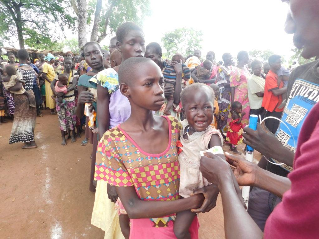 Emergency relief in South Sudan. Responding in time of crisis.