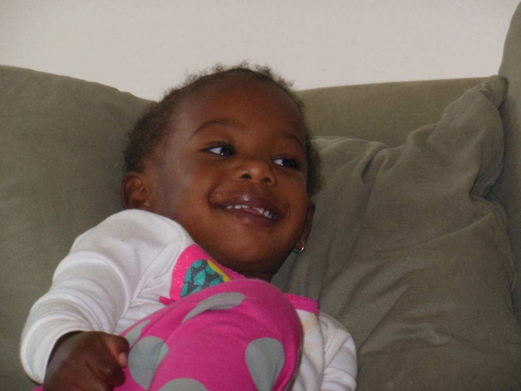 Aubrey is one of Dr. Mary's godchildren. She is two years old