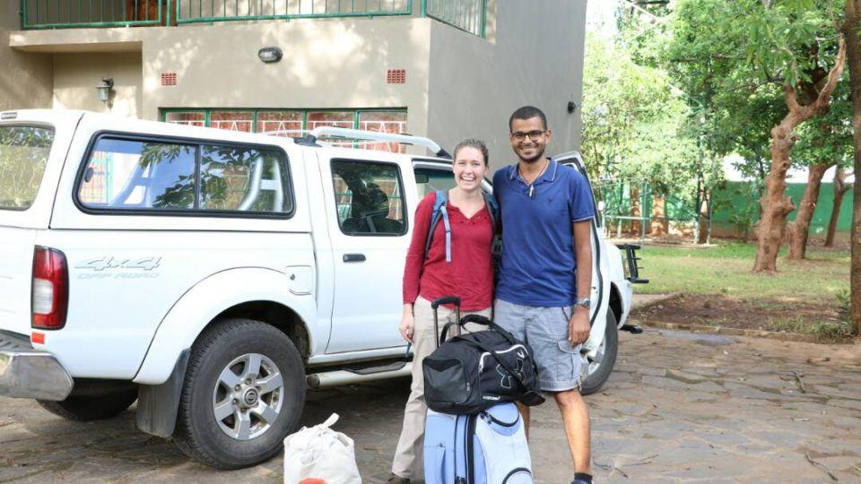 Rose arrives in Zambia
