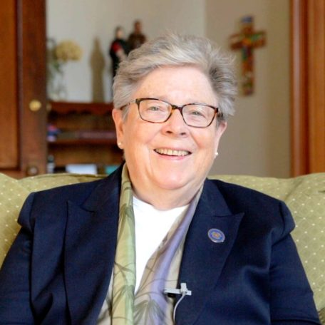 Sister Rosemary Moynihan is CMMB's first female board chair.