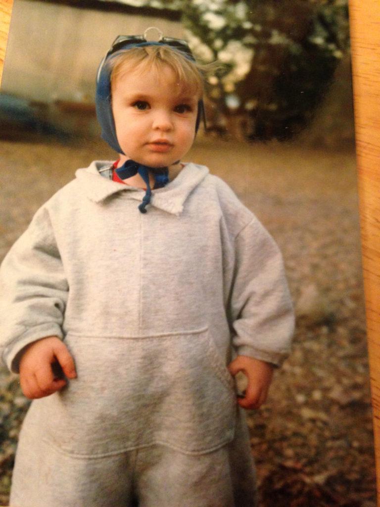Glenn Erickson's baby picture. Today an intern turn employee from Fordham University.