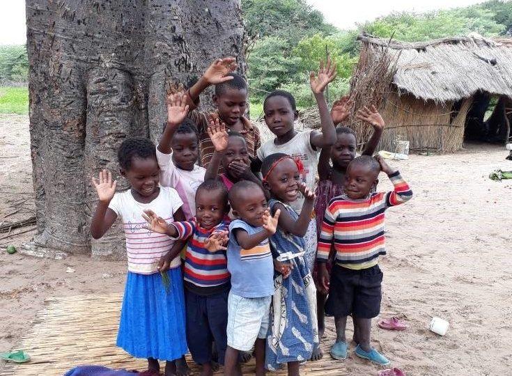 A photo of joy and hope from Mwandi
