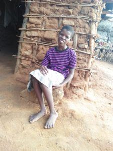 Alice Mutali Mary 14 years and disabled