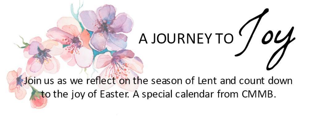 2018 Lent Calendar title image Journey to Joy