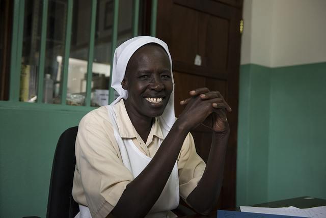 Sister Jane_Comboni Missionary Sister_nurse_St Teresa Nzara Hospital_South Sudan