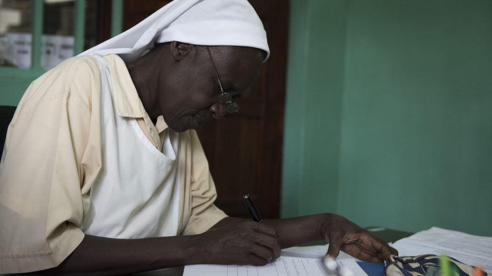 Sister Jane_St. Teresa Nzara Hospital South Sudan Nurse_comboni missionary sister
