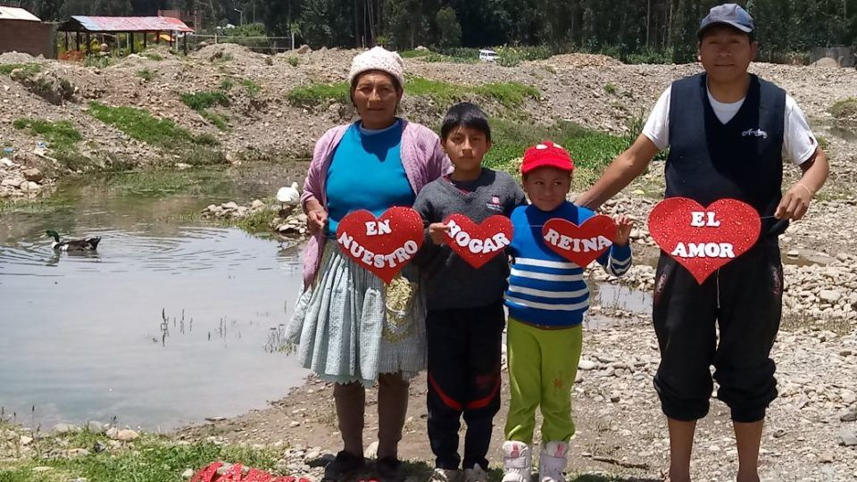 CMMB Peru beneficiary family_Huancayo_ love reigns in our family_valentine 2018