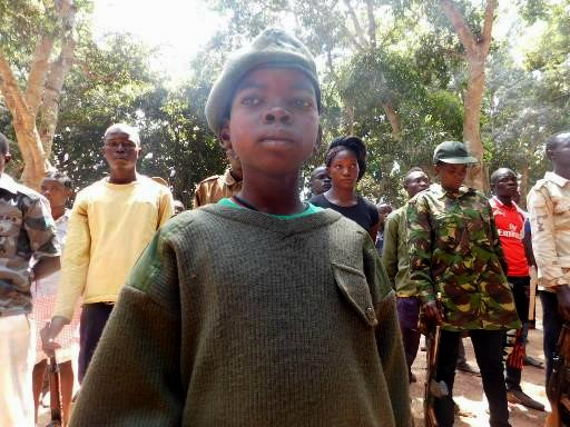 Child Soldier in Yambio