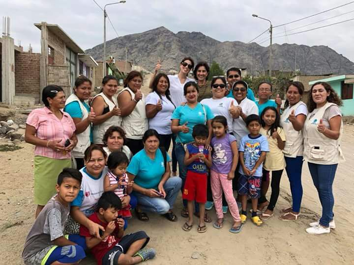 Group Shot of Miss Grand and people in Trujillo