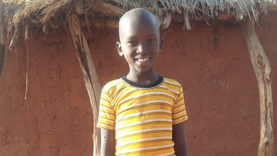 Moses Mulonzya Munyoki aged 10 in Kenya