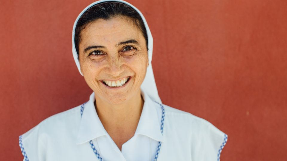Sister Maria first came to the Rosalie Rendu Health and Nutrition