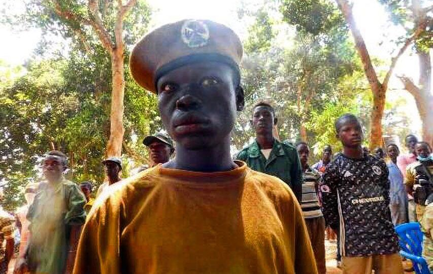 Child soldiers in South Sudan released