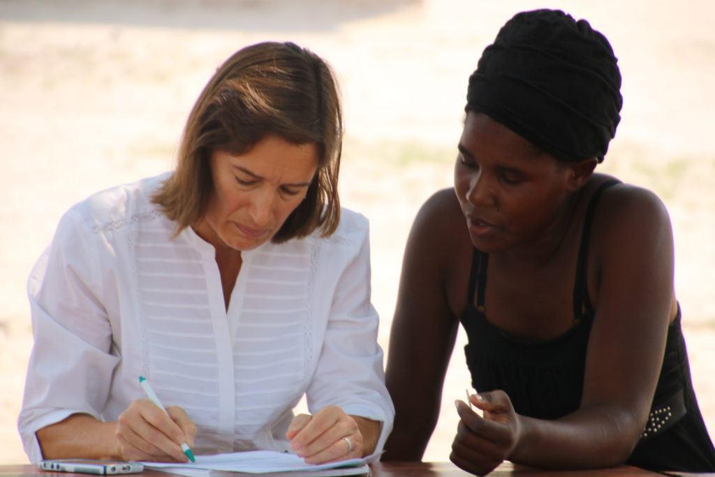 Dr. Helene Calvet-Sept Mwandi Mission Trip
