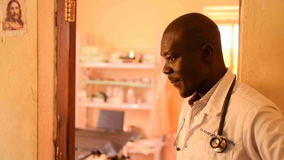 Dr. Mustapha a legend at the maternity ward in South Sudan.
