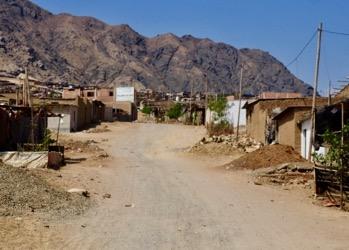 The New Jerusalem district of Trujillo, Peru.