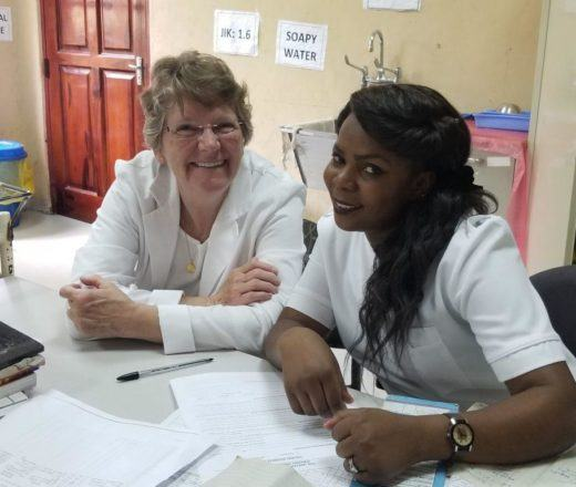 Beverly Farinelli is a nurse and nurse educator who is changing the world..