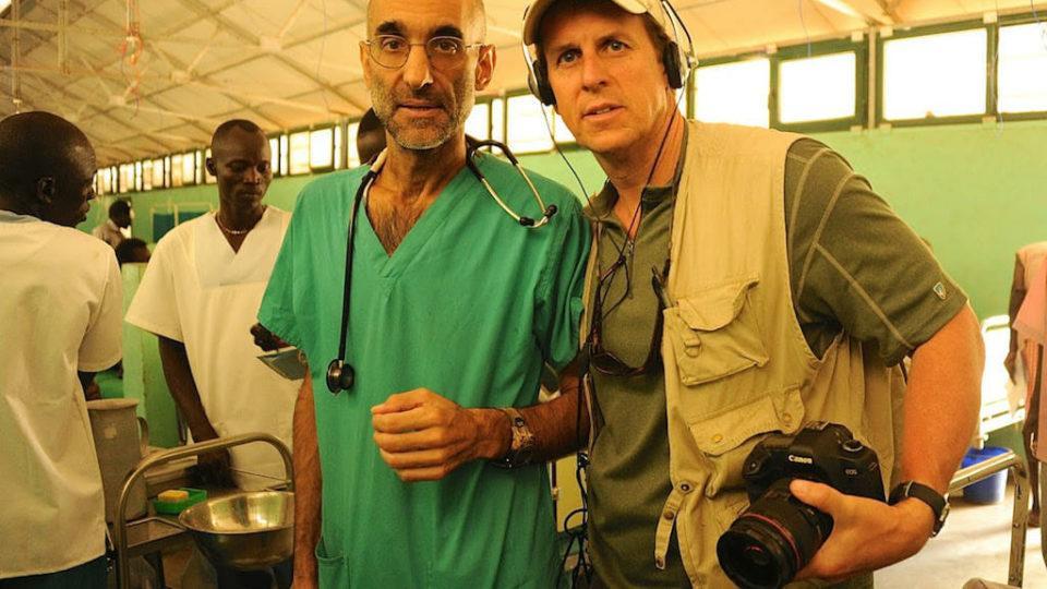 Dr. Tom Catena and Kenneth Carlson. (Kenneth Carlson)
