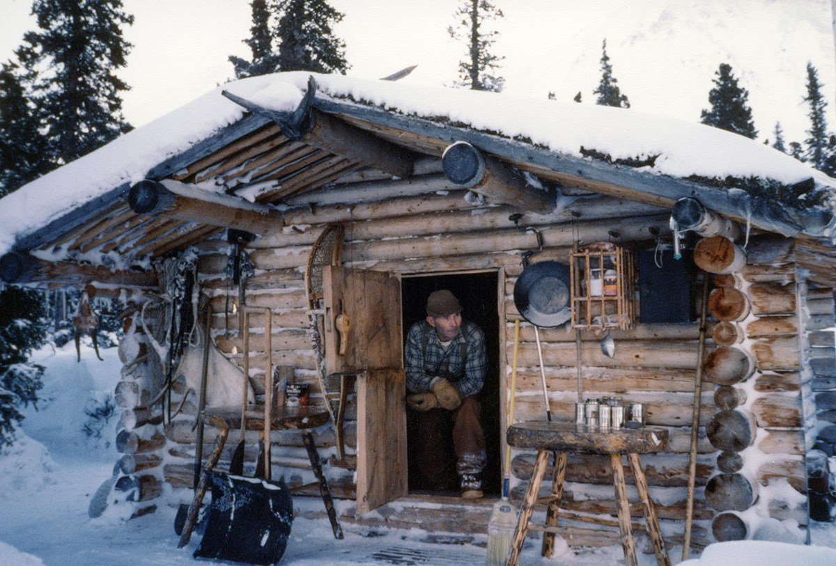 Proenneke at his cabin