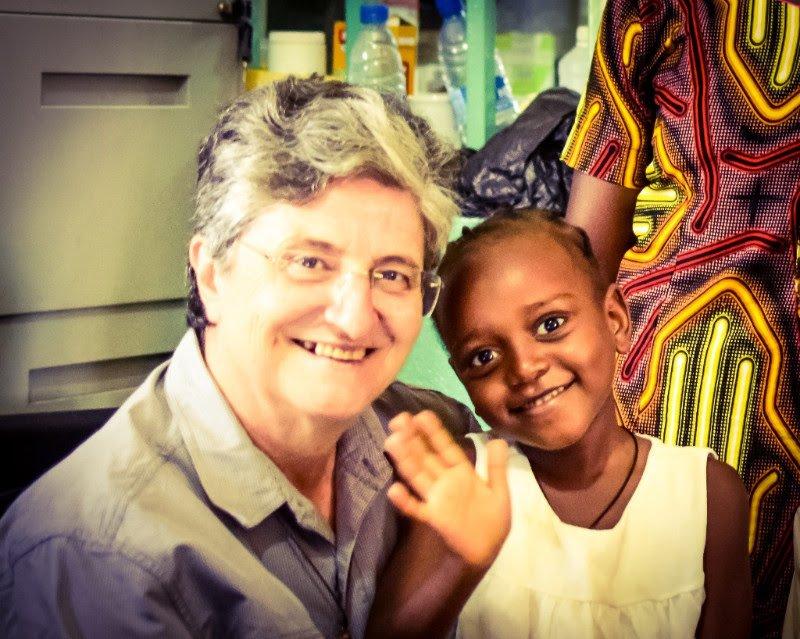 Sister Laura and Kerima at St. Theresa Hospital.