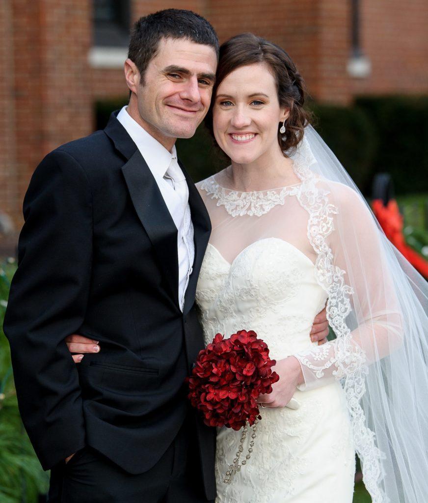 Martin and his wife Sarah