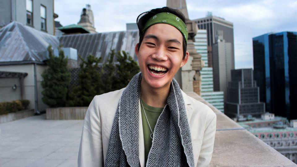 Aaron Cho new intern