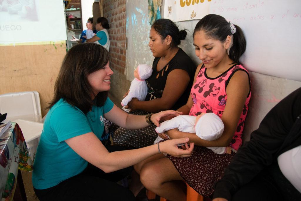 Brynn is an international volunteer with CMMB in Peru