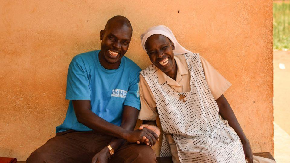 Sister Jane with CMMB staff member at St Theresa Hospital_South Sudan.j