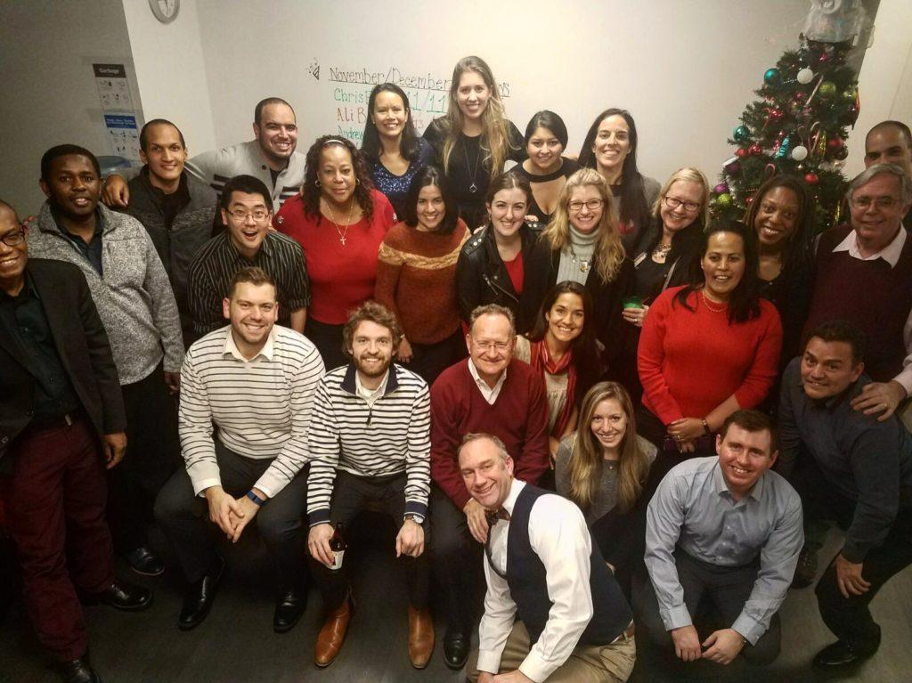 CMMB staff at the annual Christmas party!