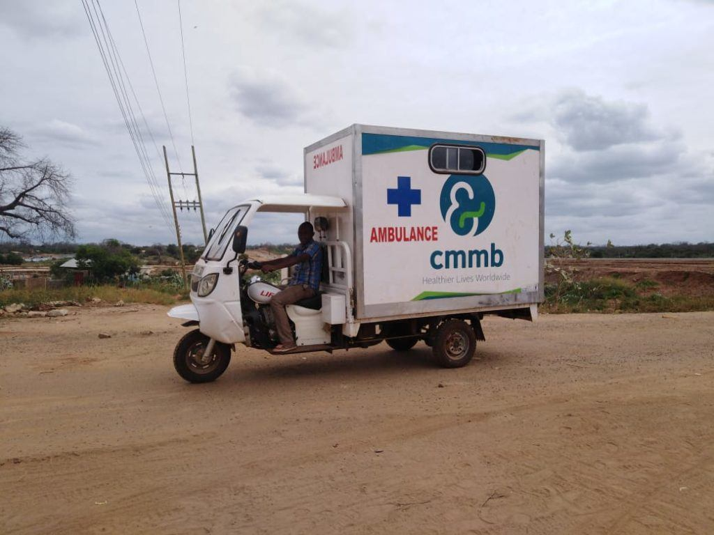 CMMB Motorcycle ambulance_Kenya