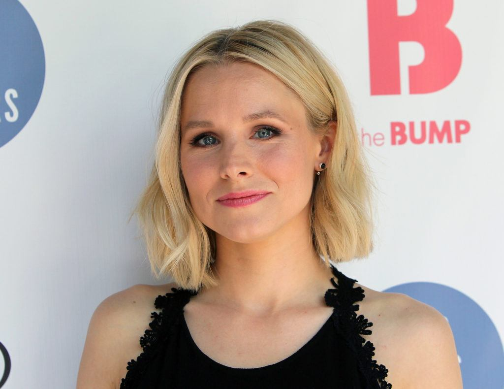 Kristen Bell, Ellise Carlos's chosen actress who would play the starring role in the movie about her life.