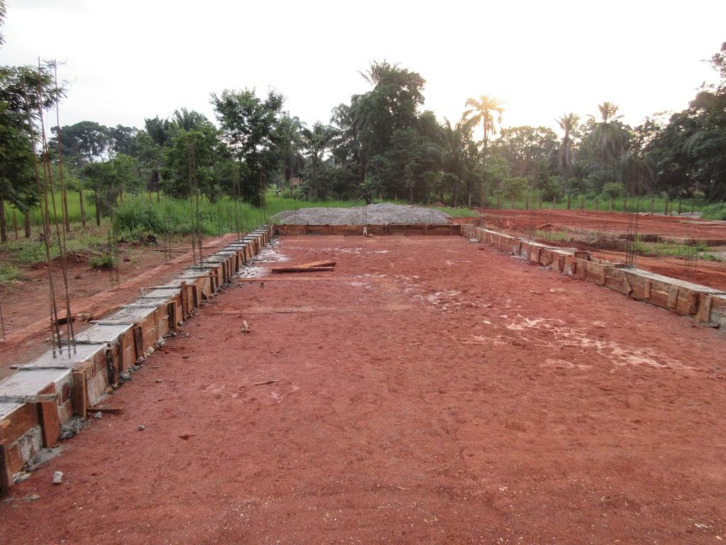 Progress on the maternity ward at the expansion of St. Theresa Hospital in Nzara, South Sudan as of June 10.