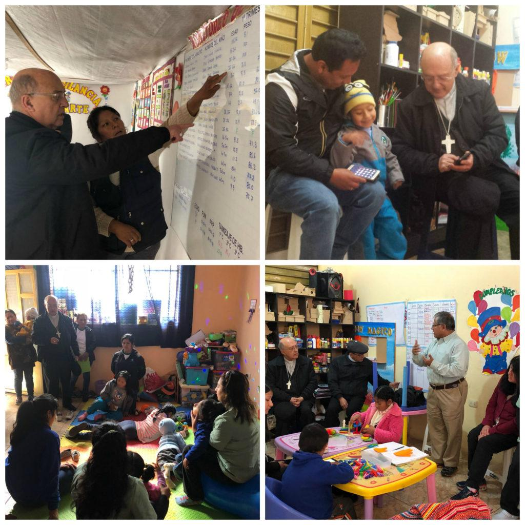 Monseñor Barreto's Visit to Huancayo