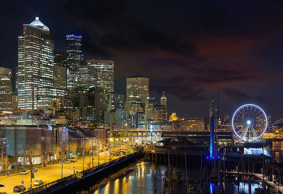 Ellise Carlos's home: Seattle.