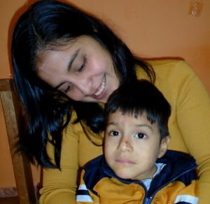 Cesar Larco is an angel from Peru who has special needs.