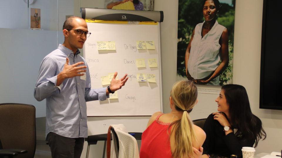 Dr. Jose sharing at the 2018 Volunteer Orientation