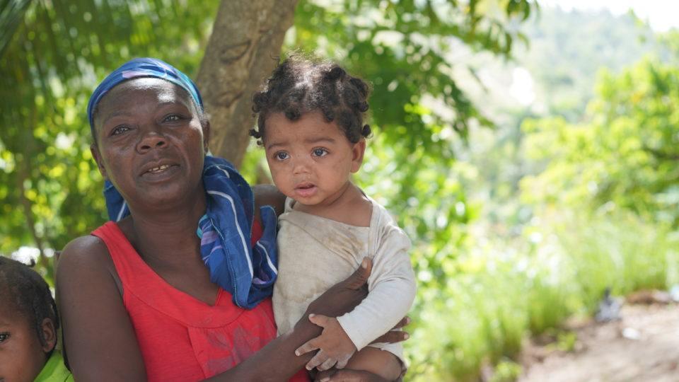 Jean michele and Grandma