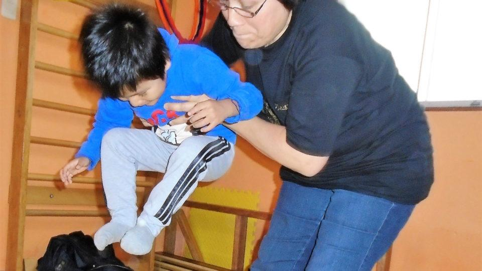 Jhon knows how to have fun in therapy - CMMB Peru Angel