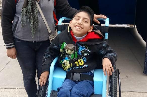 Joaquín, one of CMMB's Angels