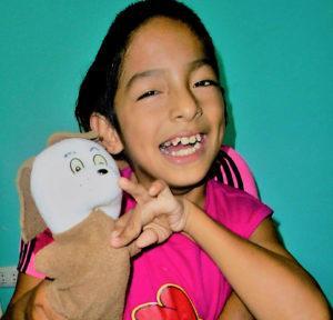 Leonel is smiling big - CMMB Peru Angel