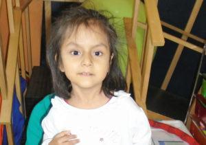 Meet Valeria, 5 years old - CMMB Peru Angel
