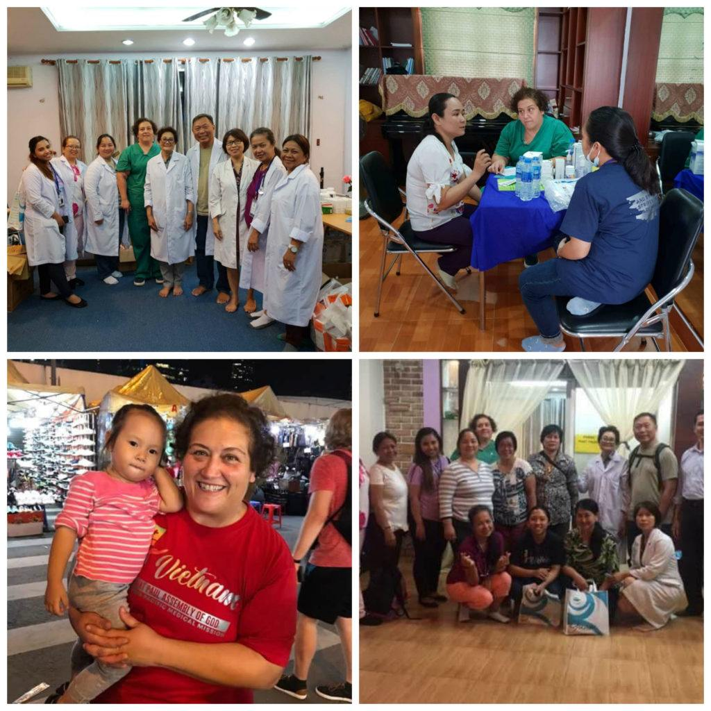 Rachael Consoli on her medical mission trip to Vietnam