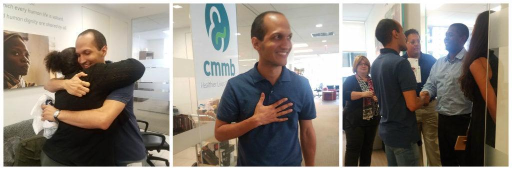 Sending Dr. Jose off! - CMMB International Volunteer